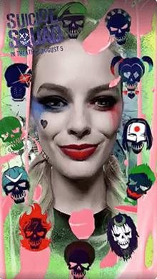 Harley quinn snapchat